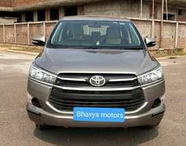 Toyota INNOVA CRYSTA 2.4 GX MT, 2017, Diesel