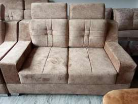 Two seater sofa back heat adjustable