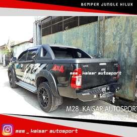 Bemper belakang custom style jungle triton hilux ranger navara dmax