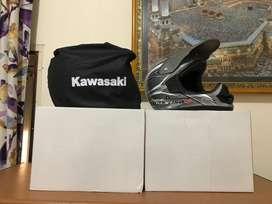 Helm full face kawasaki original