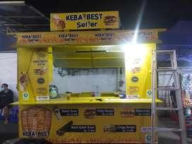 Gerobak Kebab Bekas