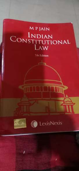 Book name # Indian Constitution Law