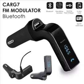 G7 Car Bluetooth modulator Handsfree FM Transmitter Radio MP3 Player