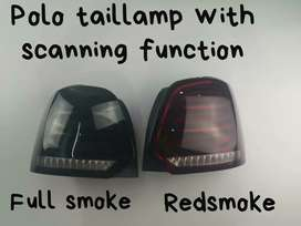 Polo led tail lights Benz style with scanning matrix edition