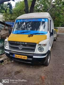 Tempo traveller cargo utility food truck