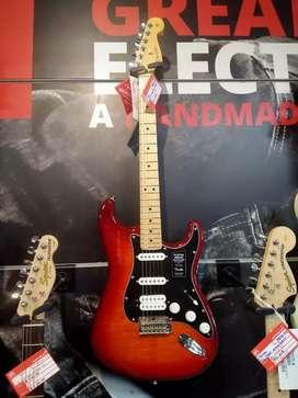 Cicilan Tanpa Kartu Kredit Fender Guitar PLYR Plustop Free 1x Cicilan