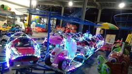odong kereta panggung mobil remot mainan labirin run bundar bulat TWB