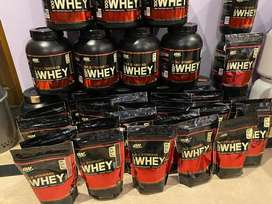 On whey Gold standard Protein