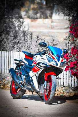 R15 bike for exchange genuine condition