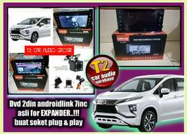 SPECIAL DVD 2DIN ASLI FOR XPANDER ANDROIDLINK 7INC FULL HD+CAMERA HD