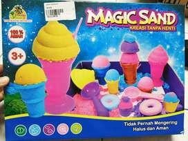mainan anak magic sand baru bisa langsung di kirim