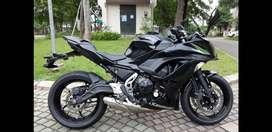 KAWASAKI New Ninja 650 , Motor koleksi , seperti baru ( sesuai foto )