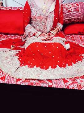 Brand new bridal lehnga shirt dupatta and purse