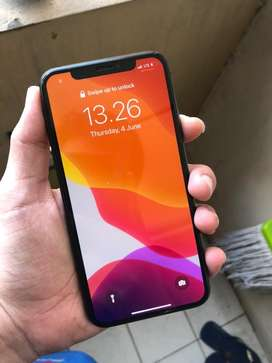 Bisa TT Iphone X 256gb grey no minus tinggal pakek