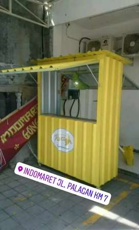 New Normal Booth Gerobak Semi Container Custom Jogja 8 Promo Murah