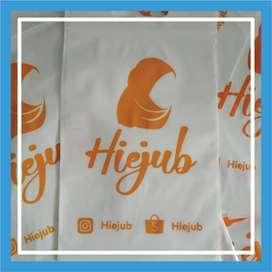 Sablon Tas Plastik Plong HD & Ziplock Murah Pontianak Kota