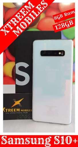 Samsung S10+..8/128..Under Warranty..