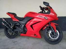 SAWO MOTOR + NINJA 2012 MERAH DUB 250CC