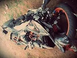 Ktm duke 200@390 total spares available