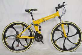 Sepeda Gunung MB Carbon steel New - sepeda mountain bike bisa dilipat