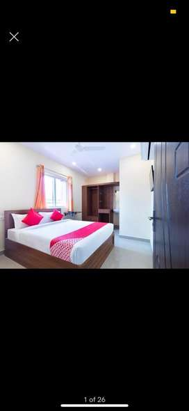 Oyo Hotel 23 rooms fully furnished 167 yd.² at Begumpet Main Road