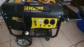 Genset merk Gambino 2800 watt Bensin