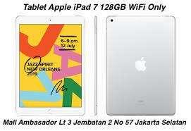 IPAD 7 128GB ( WiFi Only ) Cash/Kredit Cukup KTP+SIM
