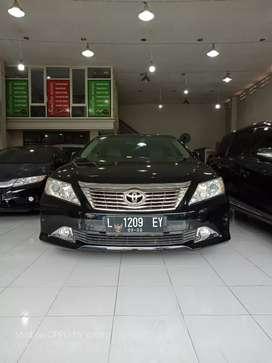 Camry 2.5 V 2012 hitam metik no manual harga kredit murah dp minim