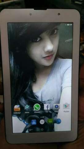 Tablet Advan i7 4g ram 2Gb internal 8gb
