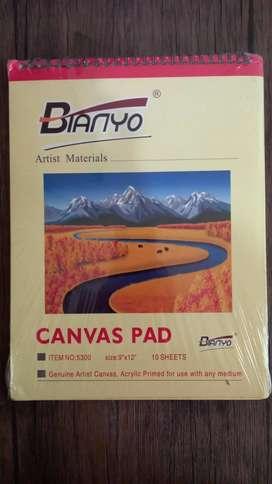 Buku Lukis Canvas Pad A4
