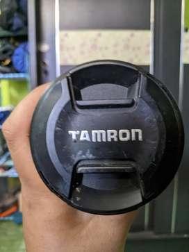 Lensa sapu jagat tamron 18-200mm sony e-mount