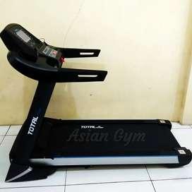 Ready treadmill elektrik TL 199 auto incline 3hp, tampilan sporty