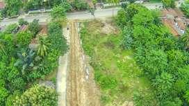 Kavling Siap Bangun Murah Pinggir Jalan Raya Provinsi Transyogi