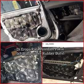 Peredam StP Black Silver Butyl Rubber 1.8mm   Boy Instaler