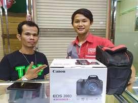 Canon 200D Bisa Kredit Cicilan Bisa 0% Proses Cepat