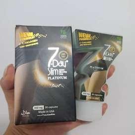 Promo slim obat diet platinum 7 day slim collagen original