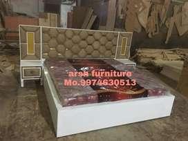 Heavy designer bed plywood
