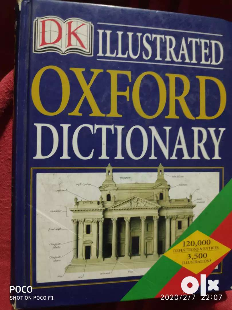 Oxford children dictionary with pictures 0