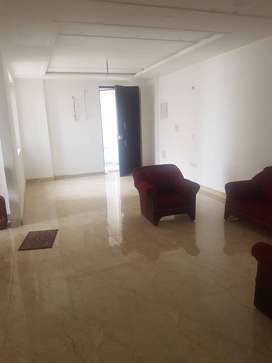 3bhk semifurnished flat in a well main township