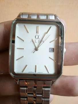 Jam tangan pria merk alfa