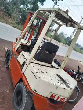 Nissan forklifter  2.5ton on sall