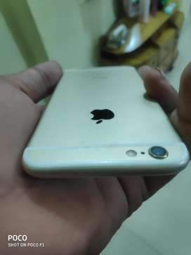 Iphone 6 32 gb gold best condition only charger nd box available bill