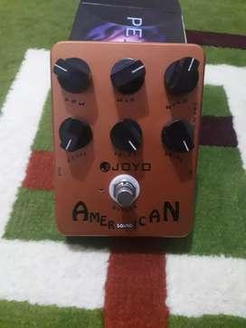 Efek gitar preamp joyo american sound not fender marshall vox sansamp