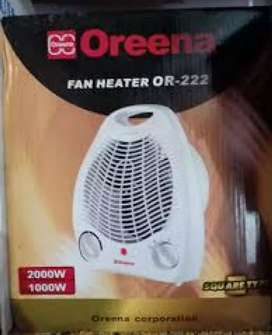 Oreena Fan Heater with the best Room Heater 1000 Watt and 2000Watt