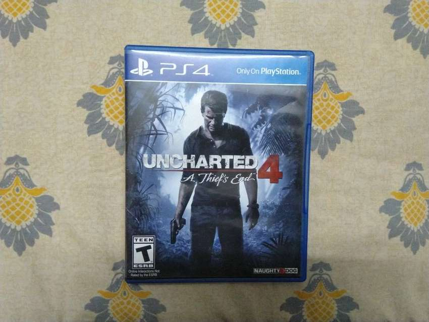 Uncharted 4 For Sale (PS4) 0