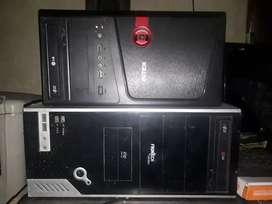 2 cpu  4 GB  and 2 gb