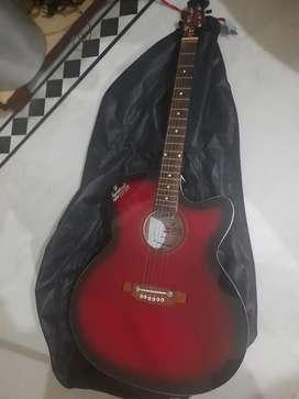 Signature brand new guitar