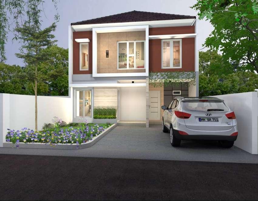 Jual Rumah Mewah Cipinang 2Man DP Suka Suka Dekat Stasiun, Pasar & Mal 0