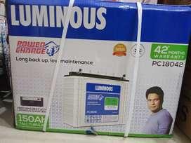 Luminous Tubular Battery 150 ah 42*months warranty