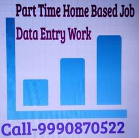 PART TIME HOME BASED JOB Part-time OFFLINE DATA ENTRY JOB Part-time